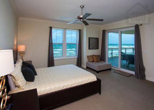 oceanfront view bedroom