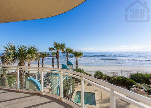 ocean vistas 204 balcony